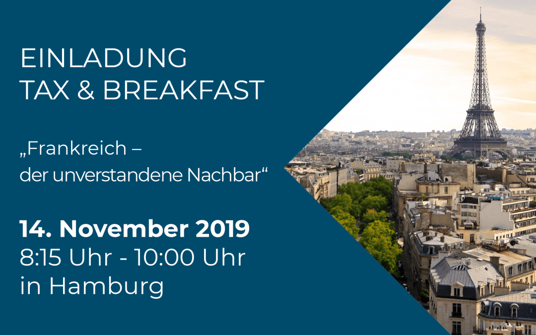 Tax & Breakfast 14.11.2019
